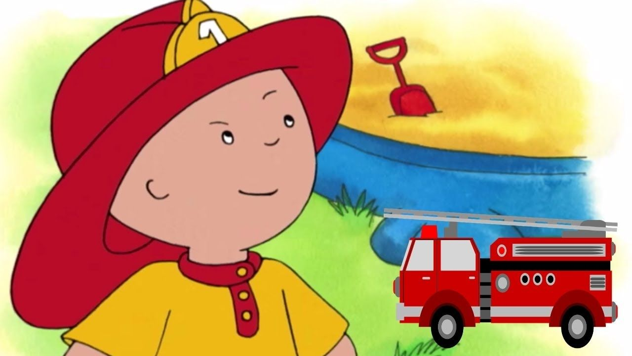 Funny Animated Cartoons Kids Caillou The Fireman Watch Cartoons Onl Funny Animated Cartoon Animated Cartoons Cartoon Online