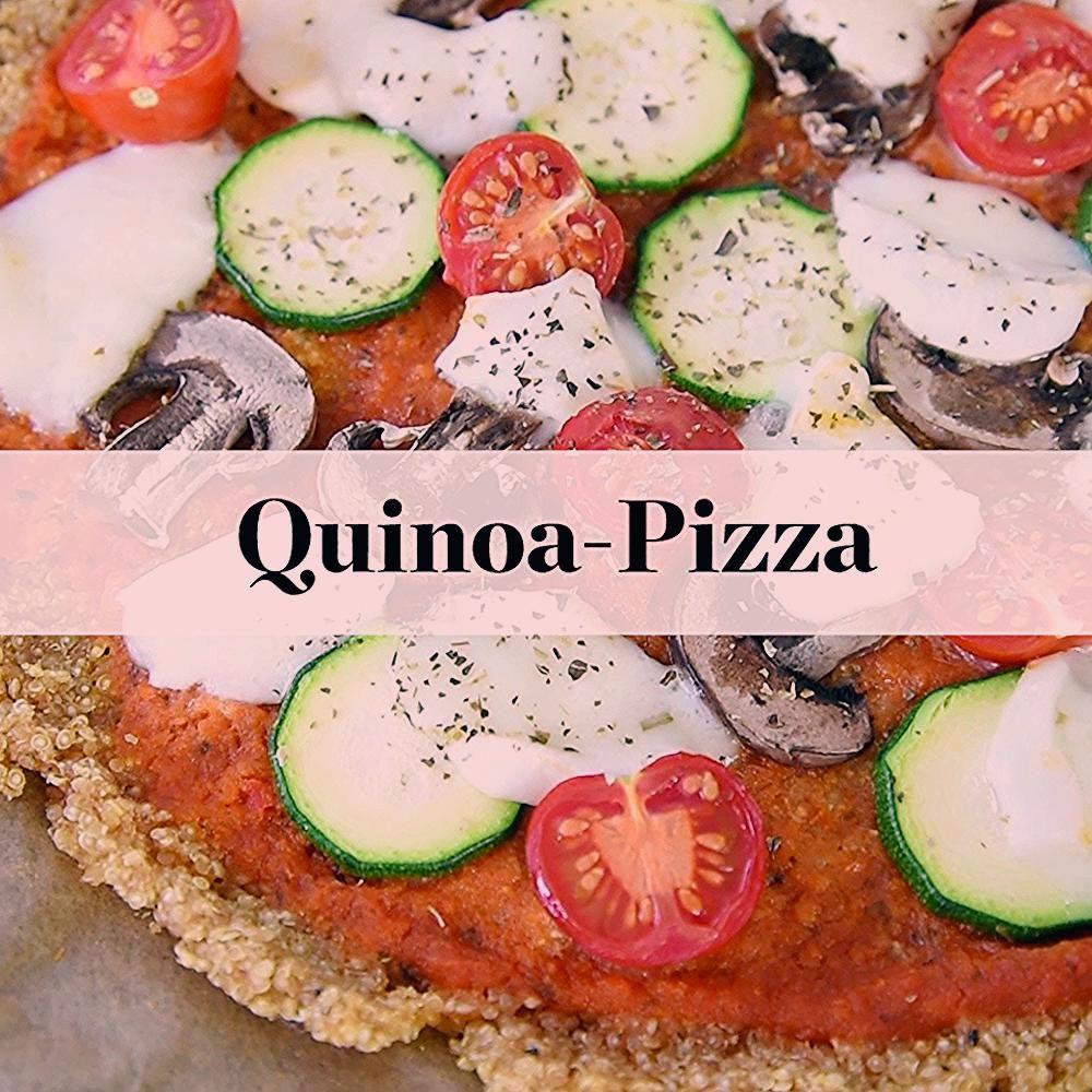 Köstlich und gesund: Pizza aus Quinoa-Teig – das Rezept So einfach geht Quinoa-Pizza