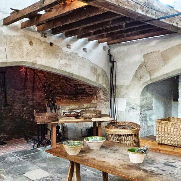 Tudor kitchen at Hampton Court Palace | CUCINE D\'ALTRI TEMPI ...