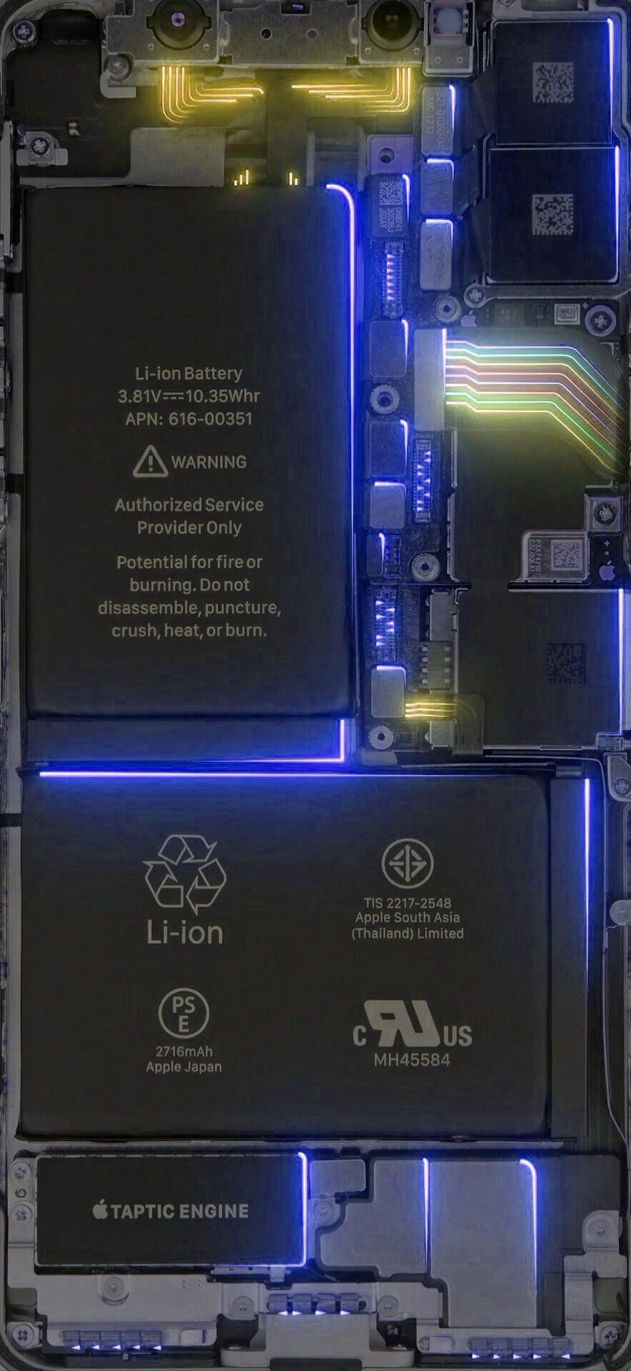 Pin Oleh Aic Di Iphone Ipad Wallpapers Wallpaper Ponsel Teknologi Karya Seni 3d 3d broken cellphone wallpaper images gambar