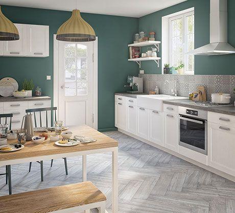 Esprit de famile une cuisine de charme revisit e au go t du jour avec les meubles de cuisine - Cuisine de charme ...