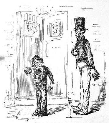 A Peeler Or Bobby Punch Cartoon 1845 Pd Peel Introduced The Peace Of Preservation Act 1814 Which Established A Peace Preservat Police Crime Find My Ancestors