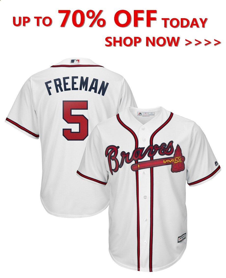 Freddie Freeman Atlanta Braves Majestic 2019 Alternate Official Cool Base Player Jersey Scarlet Ropa Tumblr Ropa