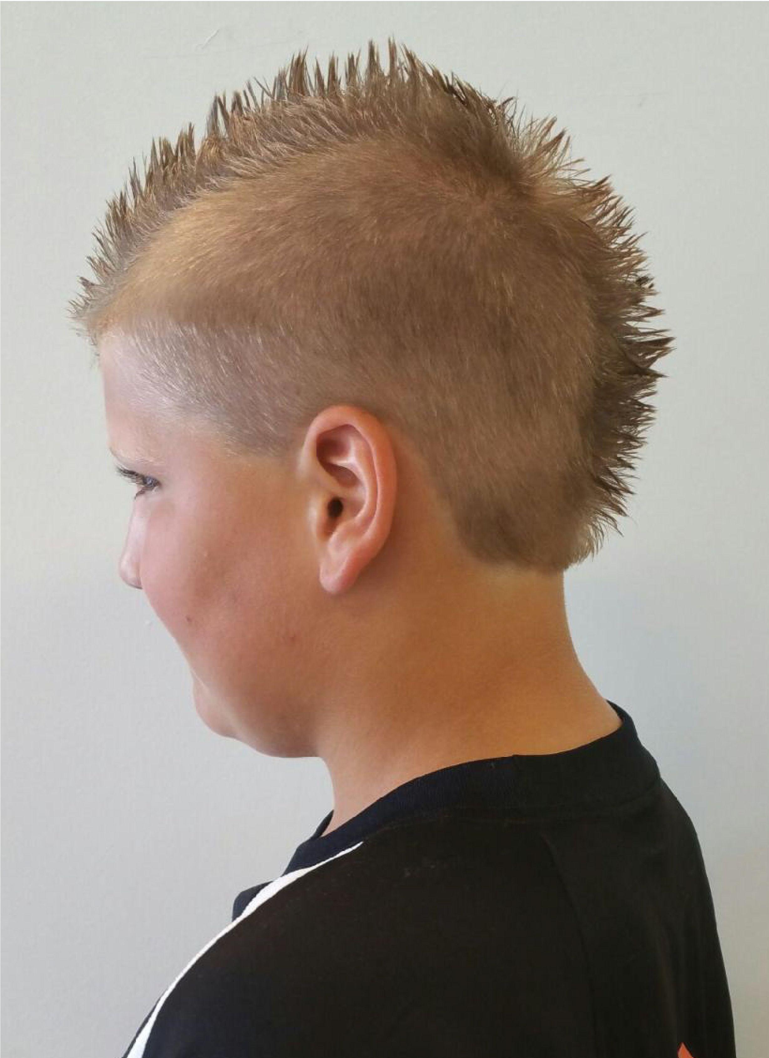 Spiky Mohawk Dana Dallas Kids Hair Cuts Styles Pinterest