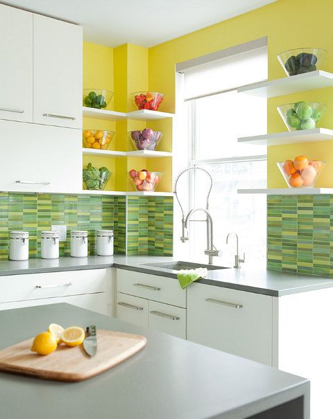 kitchen colors | kitchen | Pinterest | Cocina verde manzana, Cocina ...