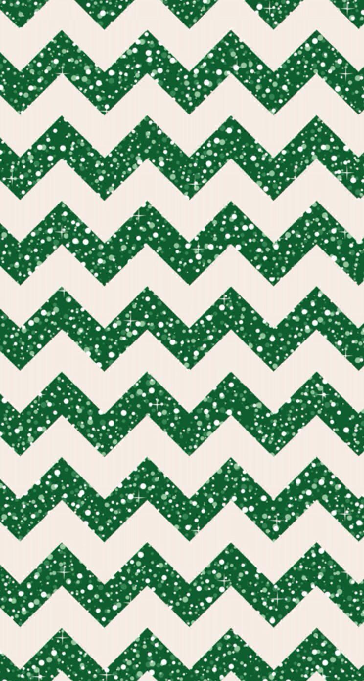 Christmas Iphone Wallpaper Glitter Chevron Chevron Wallpaper