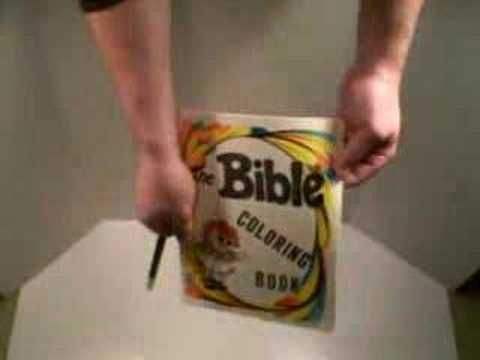Magic Coloring Book Trick Bible Lessons For Kids Gospel Magic Tricks Sunday School Videos