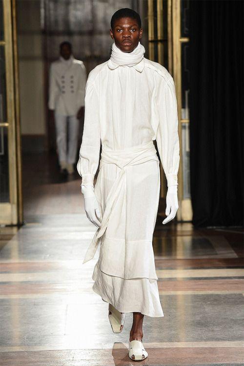 Wales Bonner FW17.  menswear mnswr mens style mens fashion fashion style walesbonner runway