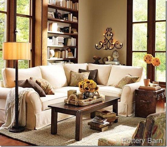 Like The Basket On The Coffee Table Pottery Barn Living Room Home Living Room Home Decor