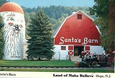 land of make believe old photos new jersey santa barn | Vintage Postcards Santa's Barn Land of Make Believe Hope New Jersey NJ