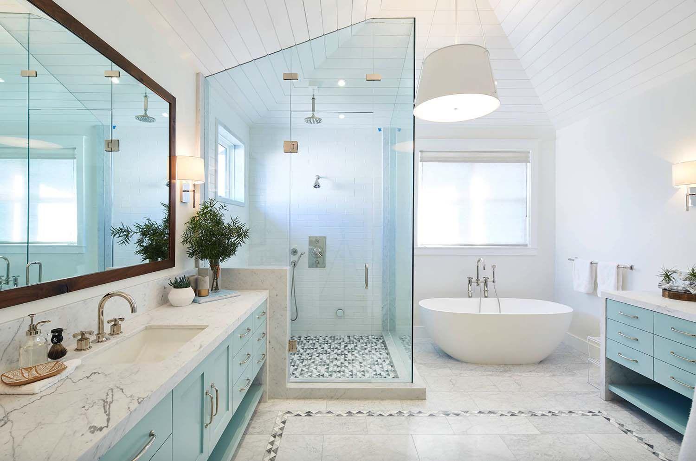 Magnificent modern farmhouse style interiors in Manhattan