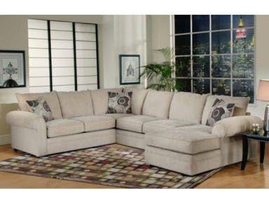 Hughes Furniture Living Room 9900 Sectional Carol House
