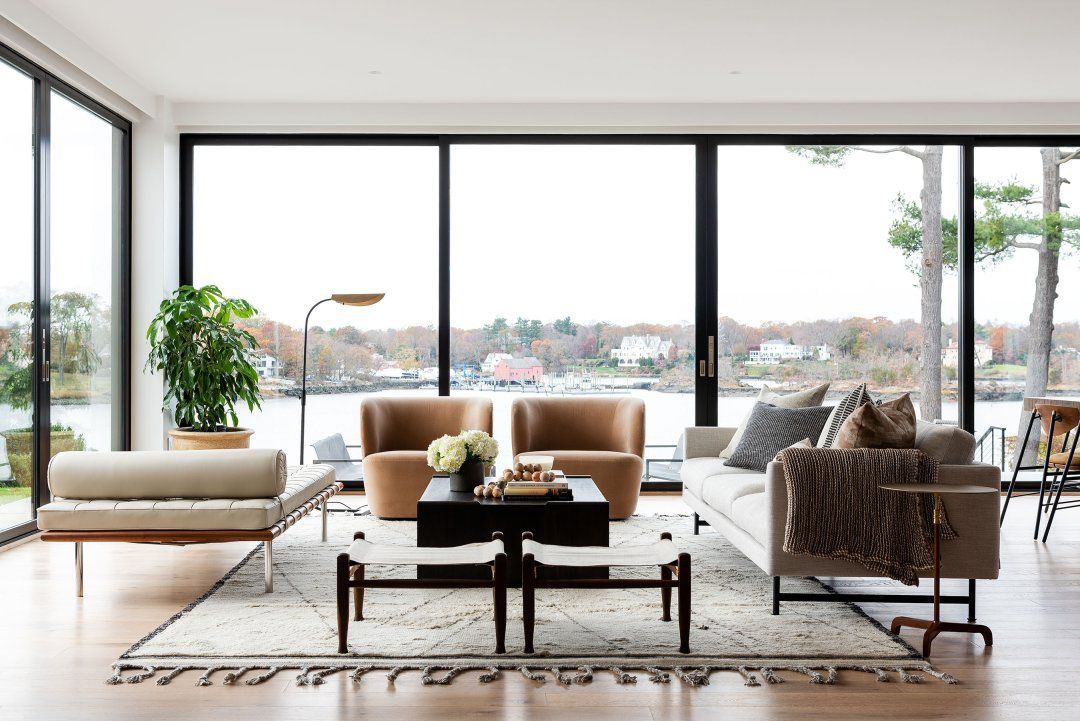 Cozy & Modern Dining & Great Room in 2020 New york