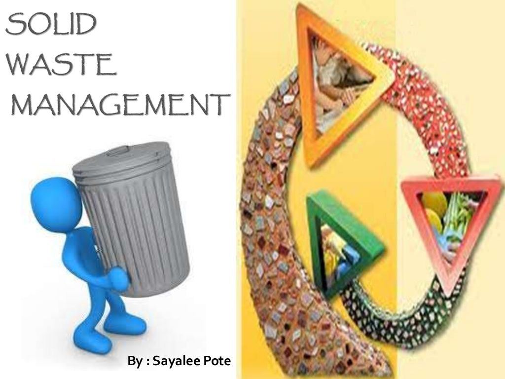 Solid Waste Management By Sayaleepote Via Slideshare  Books Worth