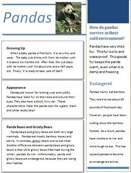 Text Structure Passage {with & without QR codes} | Reading ...