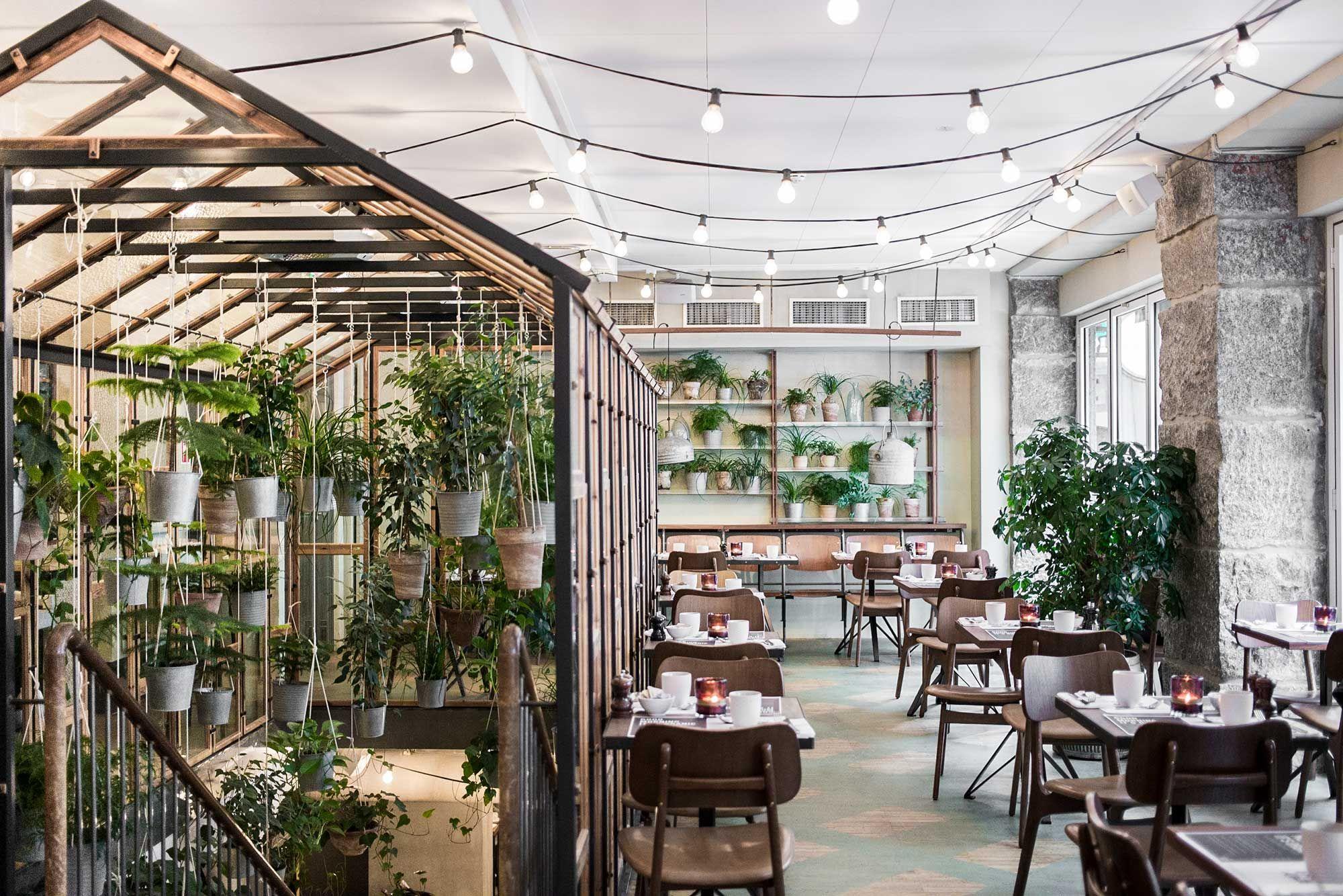 Review du Väkst : manger à l\'intérieur d\'une serre design à ...