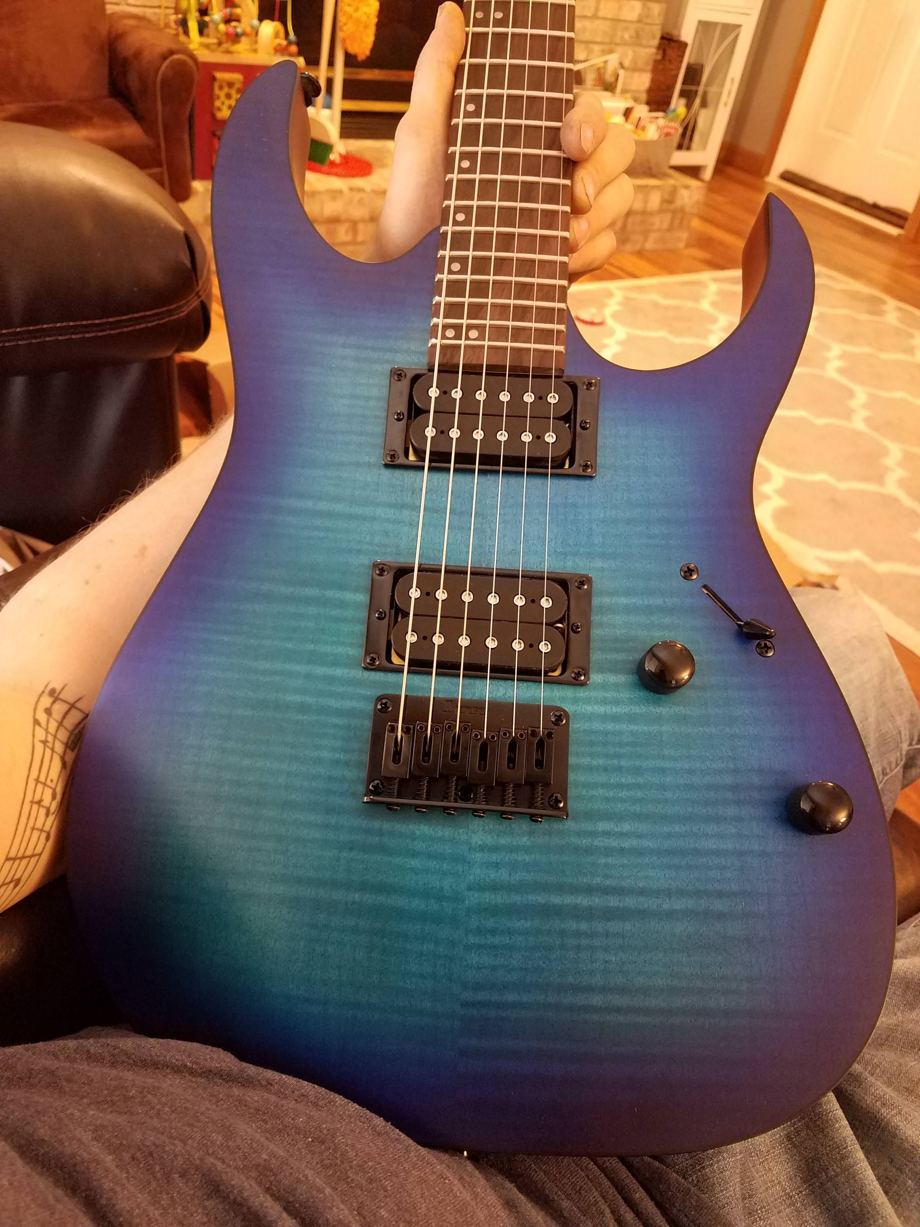 NGD] First guitar I\'ve bought in 6 years. Ibanez RG6003FM | Guitar ...