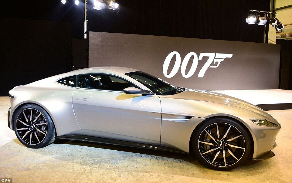 James Bondu0027s New Aston Martin Unveiled Built Exclusively For 007 | Daily  Mail Online