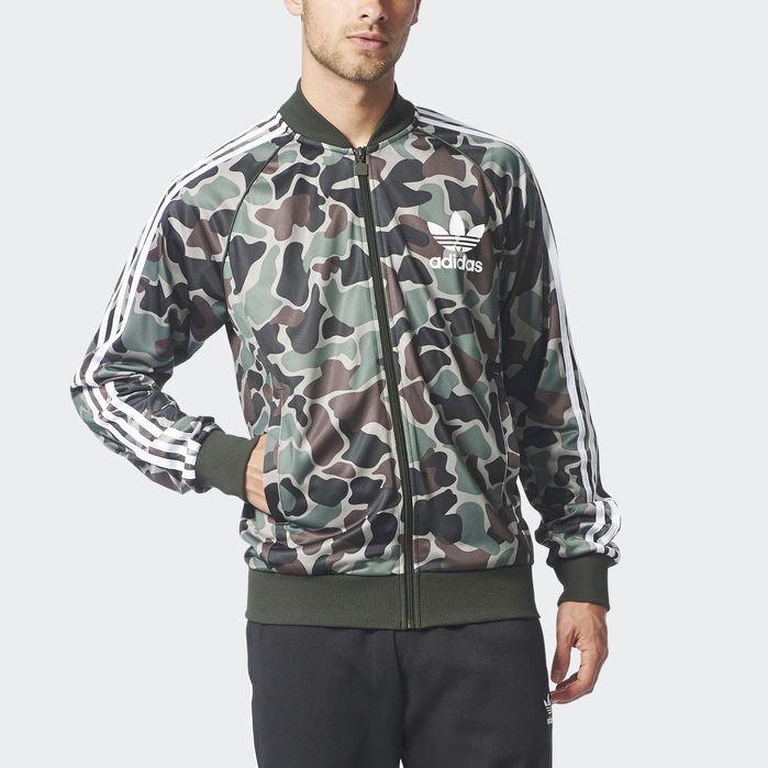adidas Camouflage SST Track Jacket Mens Jackets | Mens
