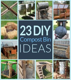 23 DIY Compost Bin Ideas Gardening Composting
