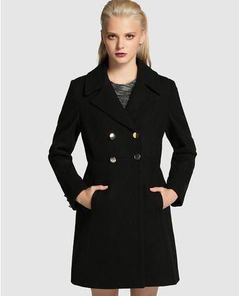 Botones abrigo negro