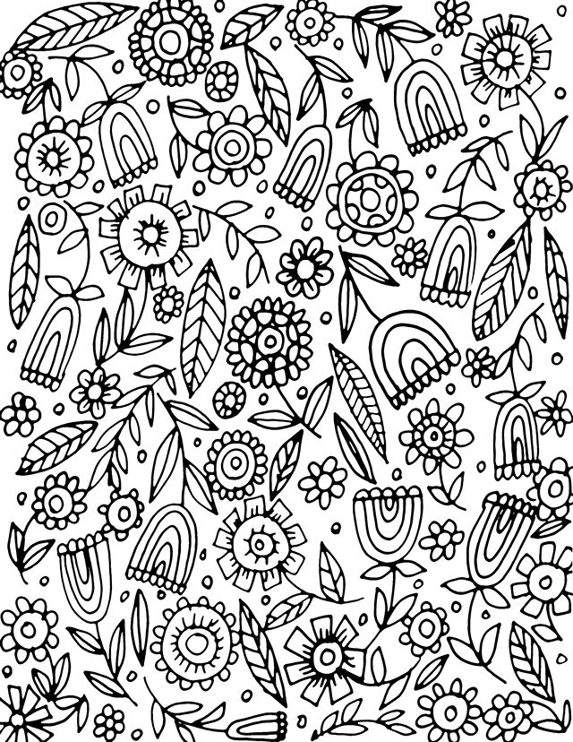 free coloring page download from alisa burke | Coloring Fun ...