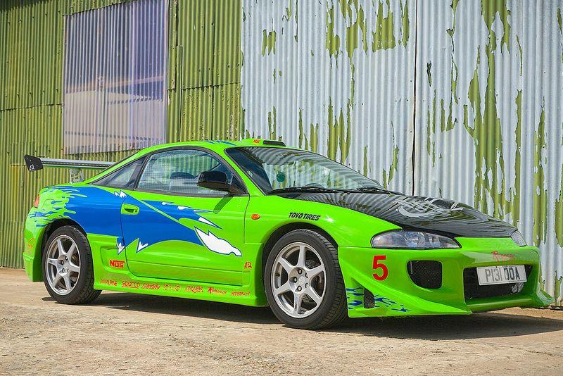 The Fast The Furious Mitsubishi Eclipse Mitsubishi Eclipse