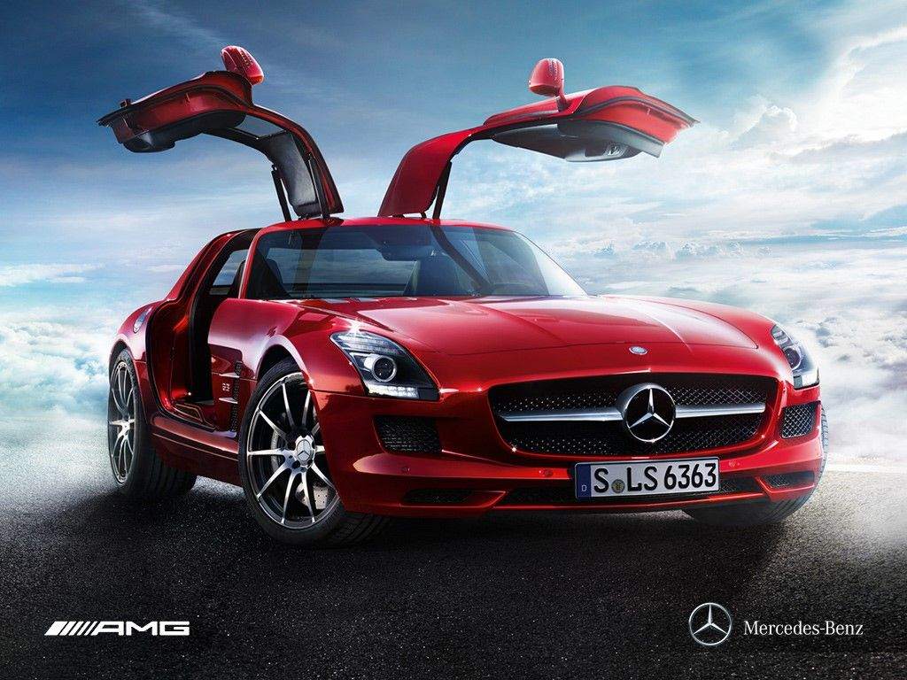 The Mercedes Benz SLS AMG (C197 / R197) Is A Front Engine