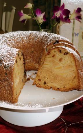 Sour Cream Apple Cake Recipe Food Com Recipe Apple Sour Cream Cake Apple Cake Recipes Sour Cream Cake