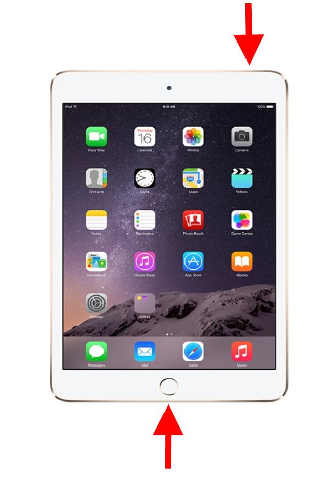 How To Take An Ipad Screenshot Apple Ipad Air New Apple Ipad
