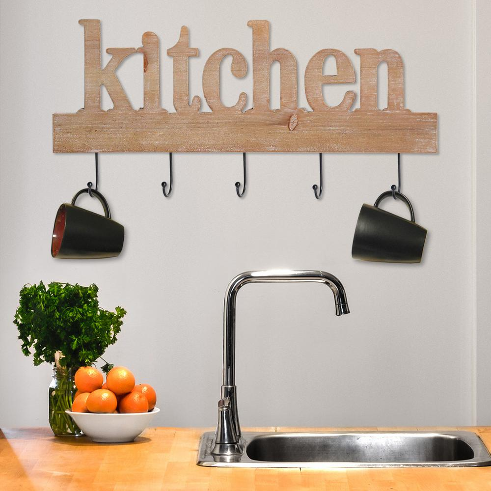 Decorative Wooden Kitchen Signs Classy Stratton Home Decor Kitchen Typography Decorative Sign Washed Inspiration
