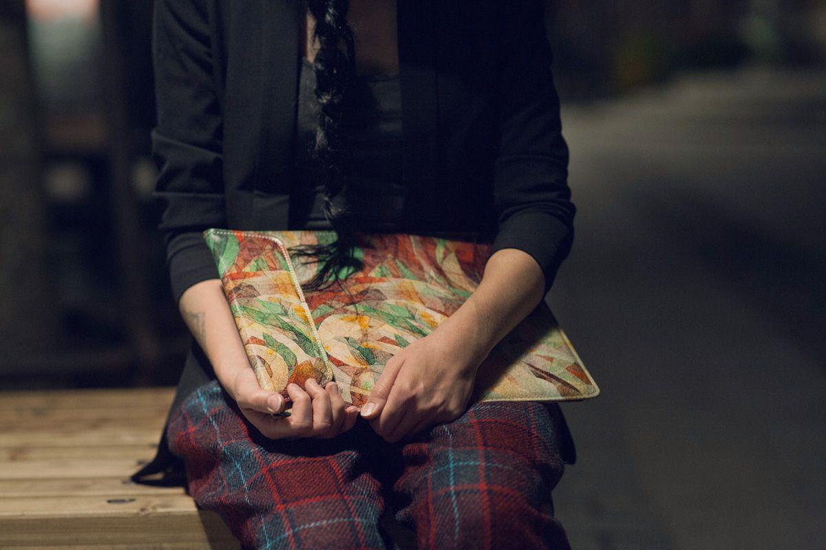 Fashion Blogger Mira Tolvanen with our Rapt MacBook Sleeve. Shop:https://www.etsy.com/uk/listing/190083078/createcase-macbook-pro-macbook-air-1113?ref=shop_home_active_20