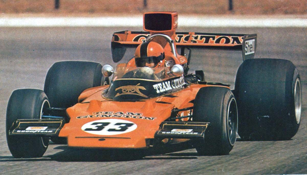 Eddie Keizan, Team Gunston, LotusFord 72d, South Africa