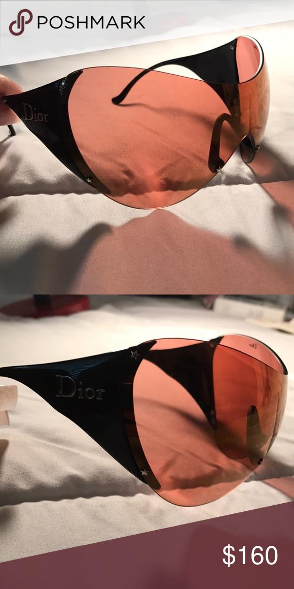 b3a2e63896 Dior Ski 1 Dope oversized Dior Ski Sunglasses. Rare find for a great price.  Def for a saucy girl! Comes with case Dior Accessories Sunglasses