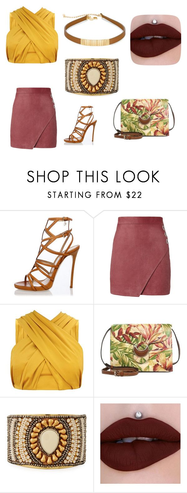 """""""Indian inspiration"""" by proudpronce ❤ liked on Polyvore featuring Dsquared2, Michelle Mason, Patricia Nash, NAKAMOL and Chico's"""