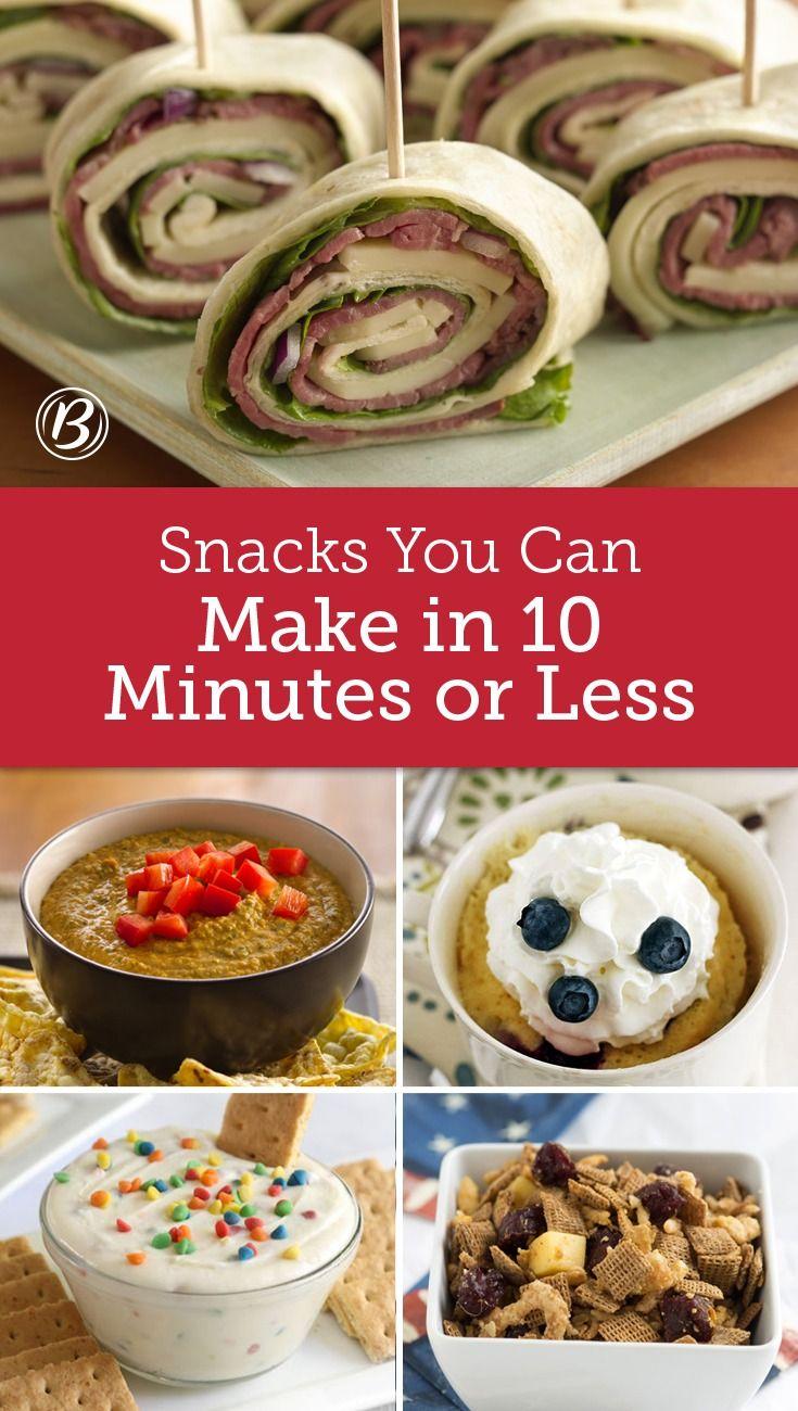 Super Filling Snacks You Can Make In 10 Minutes Snacks Food Filling Snacks