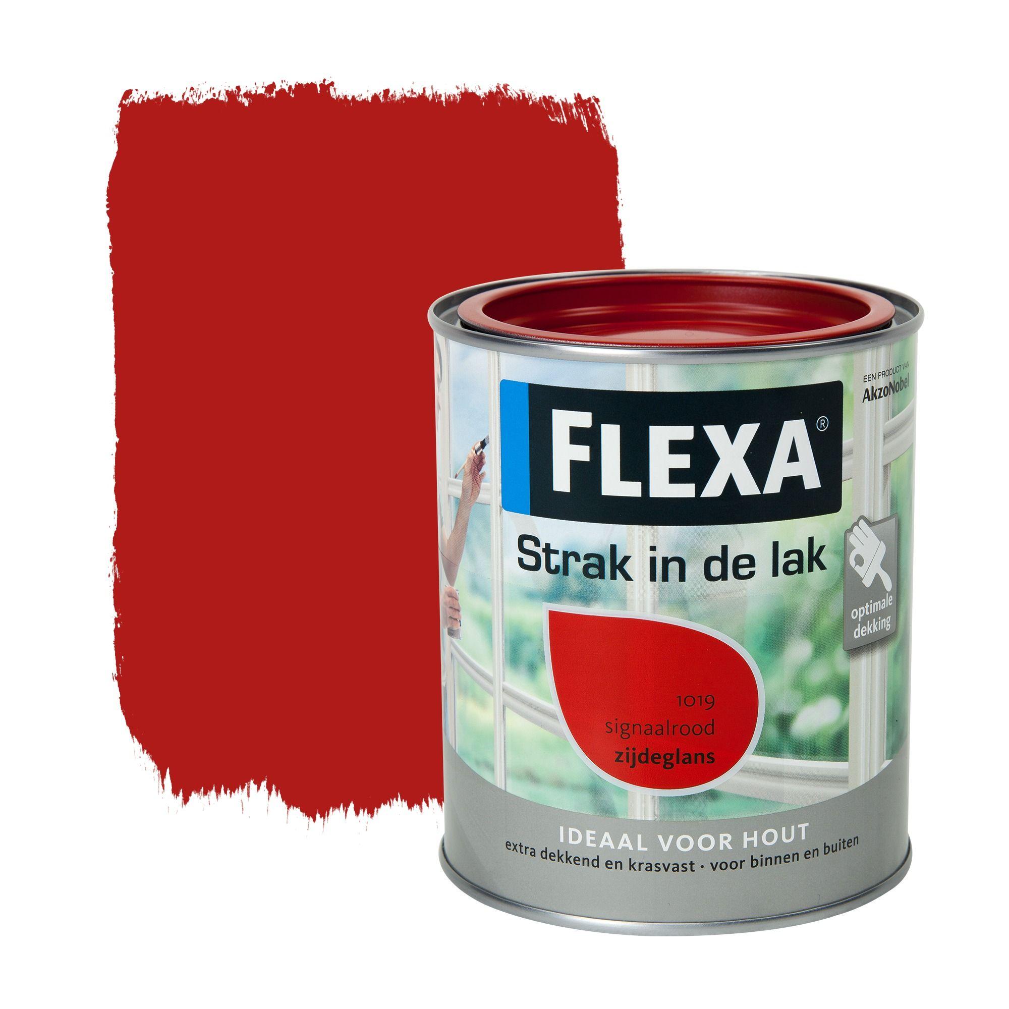 flexa early dew kopen : Flexa Strak In De Lak Zijdeglans Signaalrood 750 Ml Studio Stuff