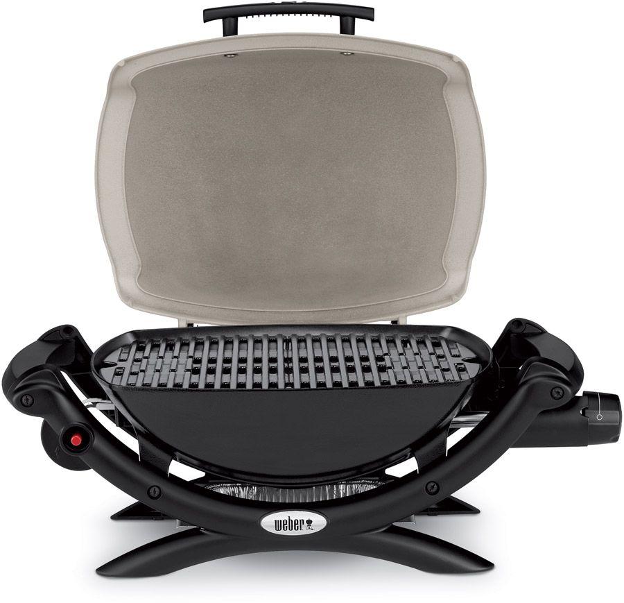 Weber Q1000 Lp Gas Grill Titanium 50060001 Authenteak Com Portable Grill Propane Backyard Kitchen