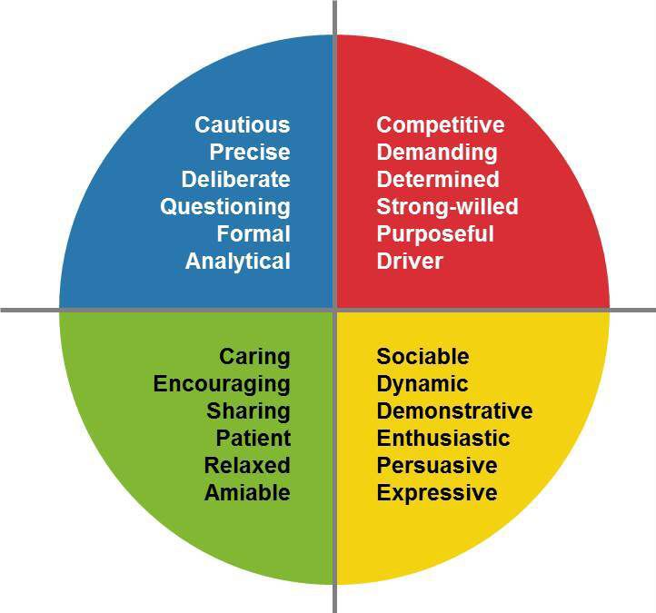 Insights discovery characteristics insights discovery