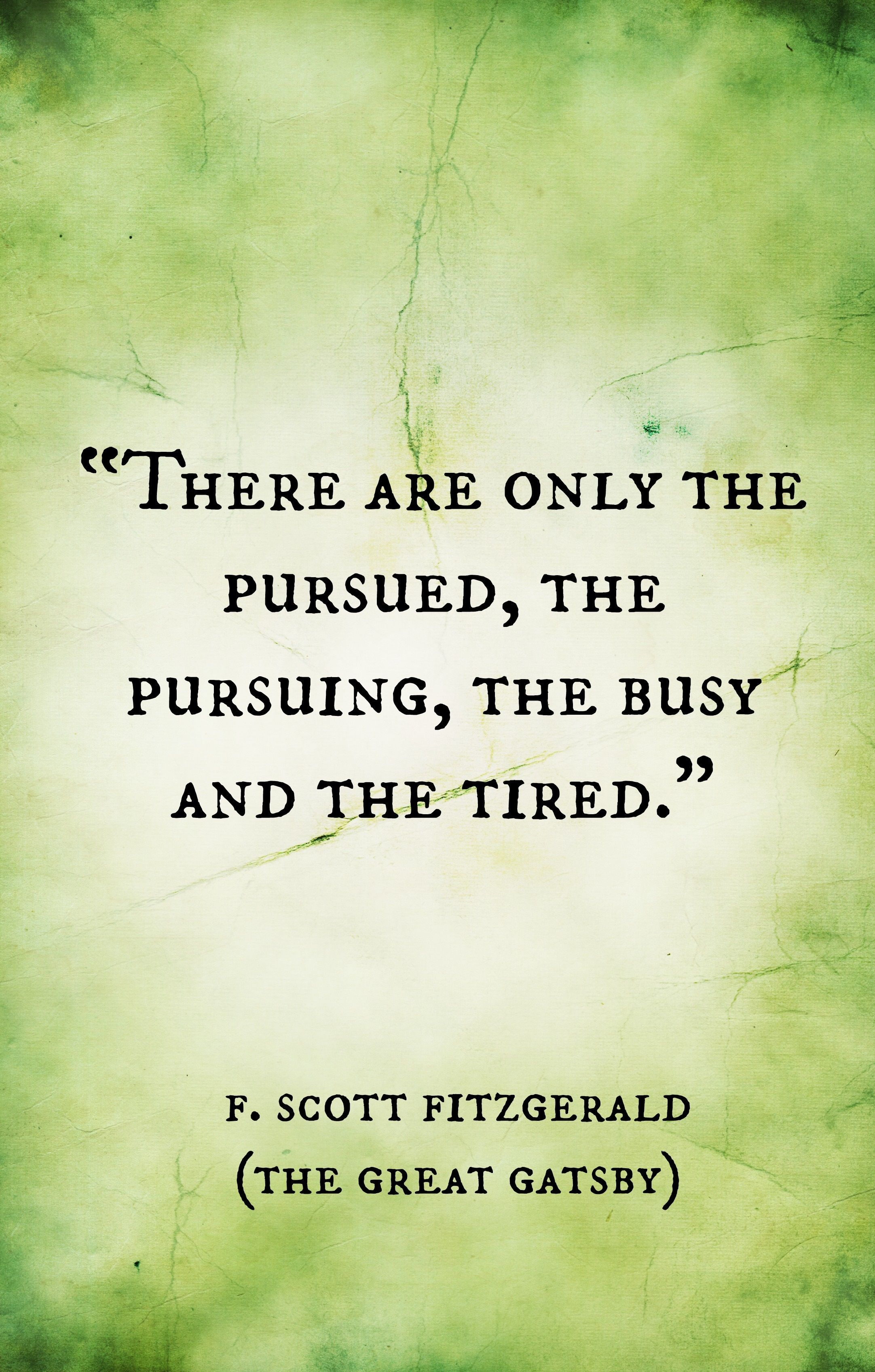 The Great Gatsby F Scott Fitzgerald Quotes