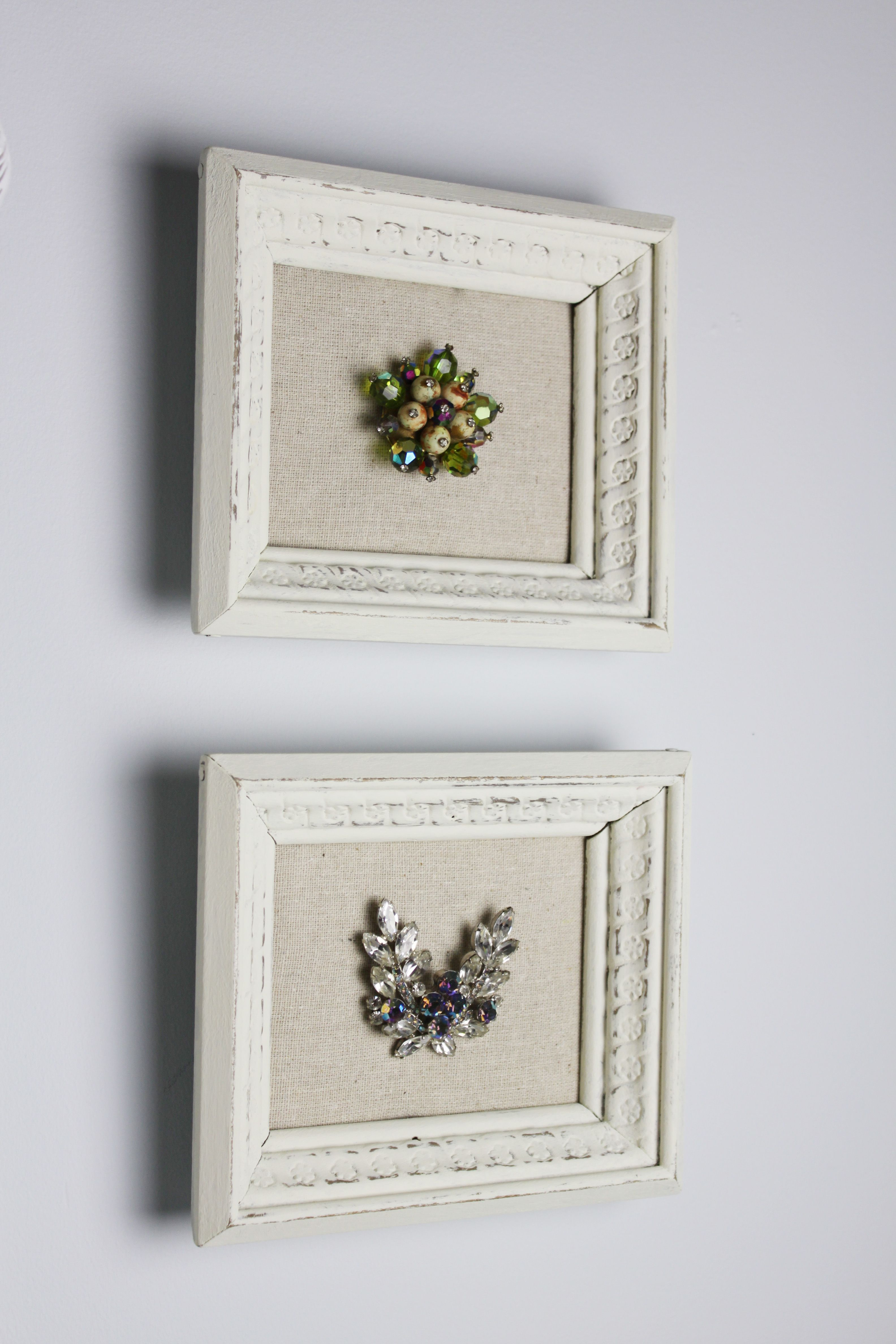 Real Inspired: DIY Framed Jewelry … | mermaid tail from jewelry ...
