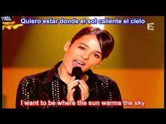 La Isla Bonita Subtitulado En Español Ingles Lyrics Sub Letras Youtube Español Ingles Español Isla Bonita