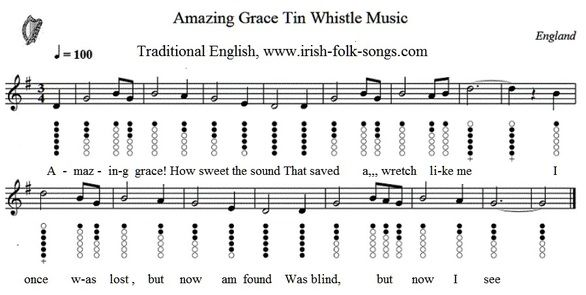 Amazing grace sheet music easy version | Tunes - Tin ...