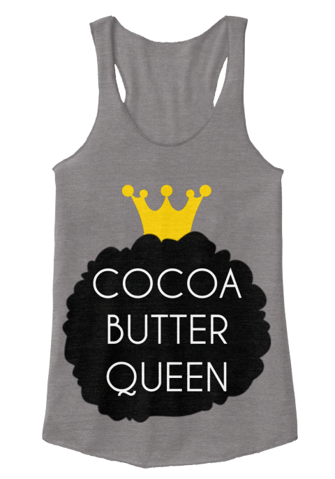 Black Owned Businesses   T-Shirts   Cocoa Butter Queen Tee   Afro ... a8d1f56ed2