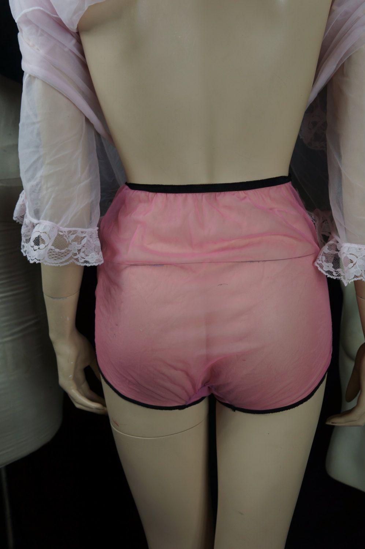 50s Sheer Nylon Panties 60s Hot Pink Nylon Panties Vintage Sexy Sheer Nylon High Waist Underware Bardow Burlesque Rare Panties By Maneatyak On Etsy