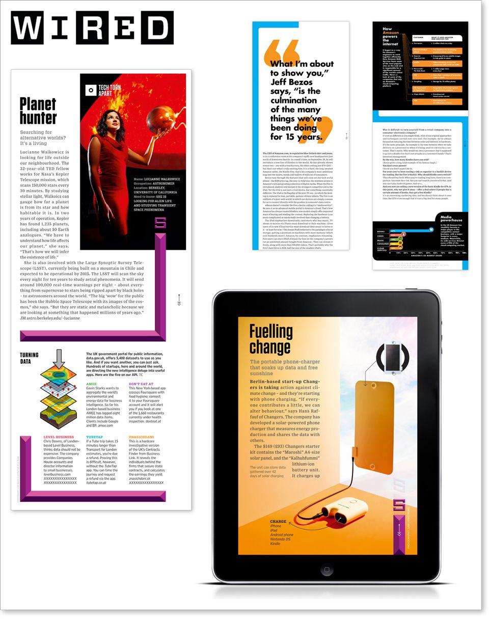 Wired iPad Magazine | iPad mag | Pinterest | iPad