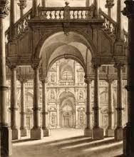 Image result for how to draw courtyard