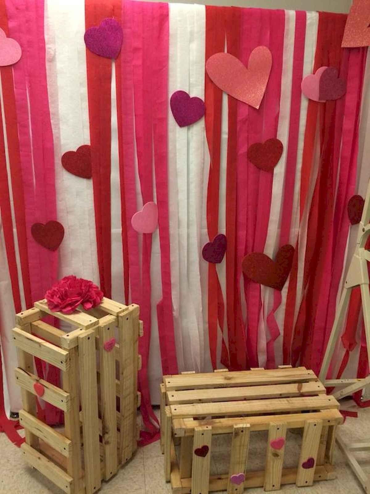 75 Romantic Valentines Day Crafts Design Ideas Valentines Party Decor Diy Valentines Decorations Valentine Decorations