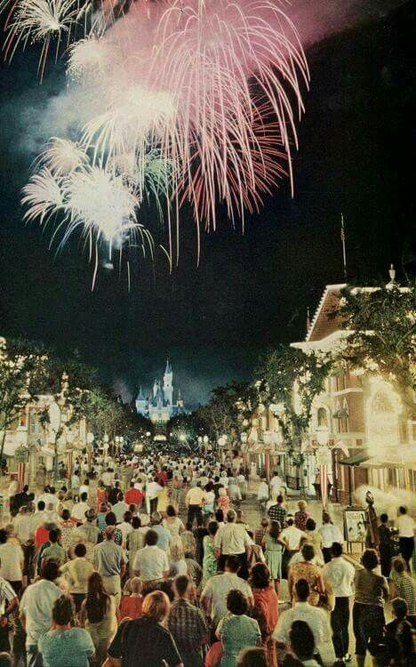 disneyland 1964 magnificent a national geographic photo