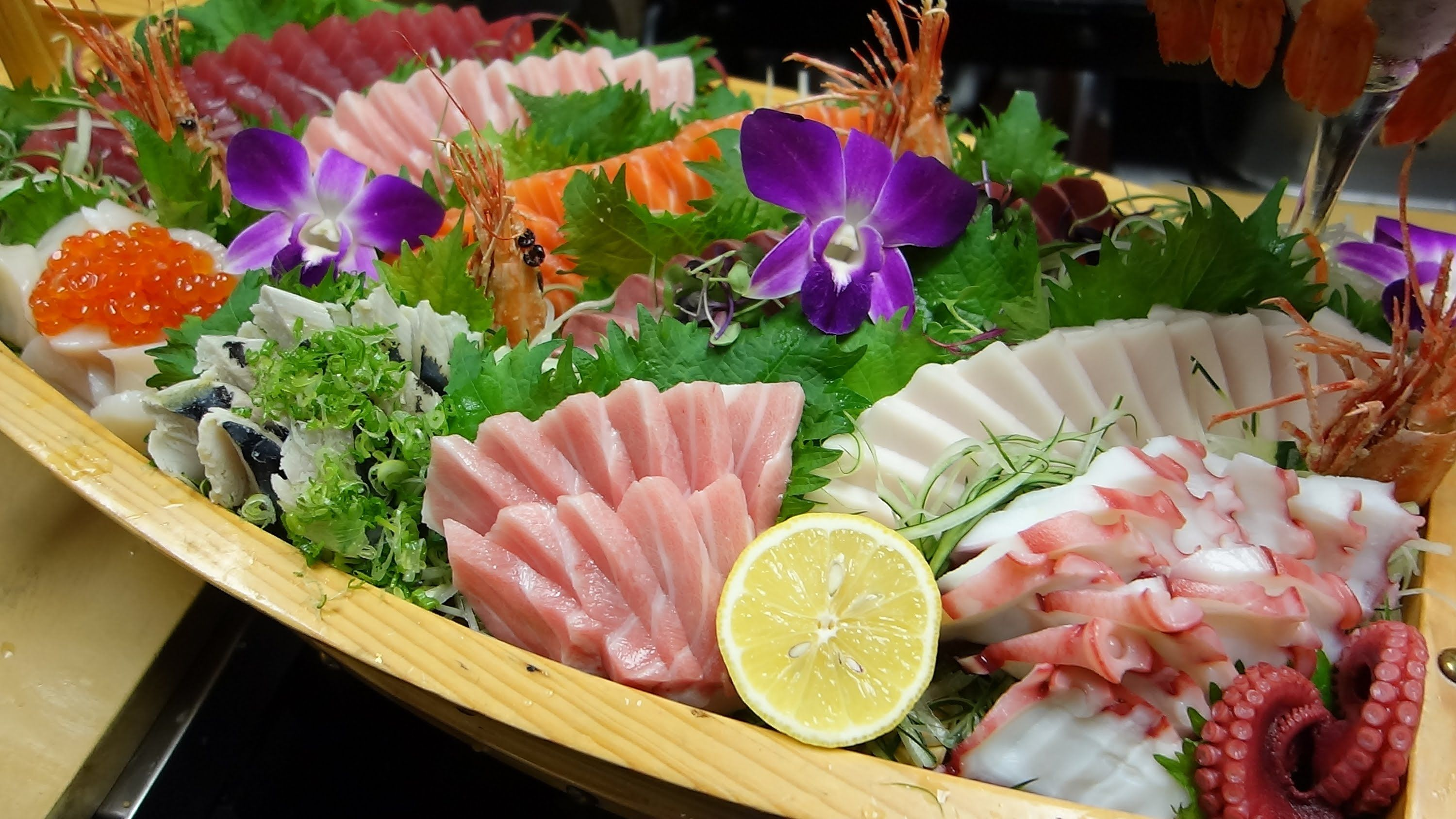 Special Sashimi Boat How To Make Sushi Series Sashimi How To Make Sushi Fruit And Vegetable Carving